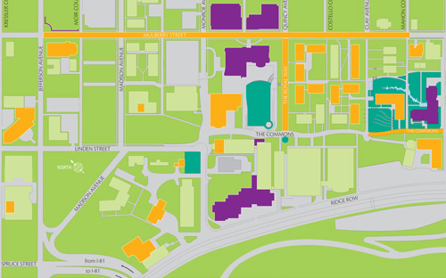 Campus Growth Map