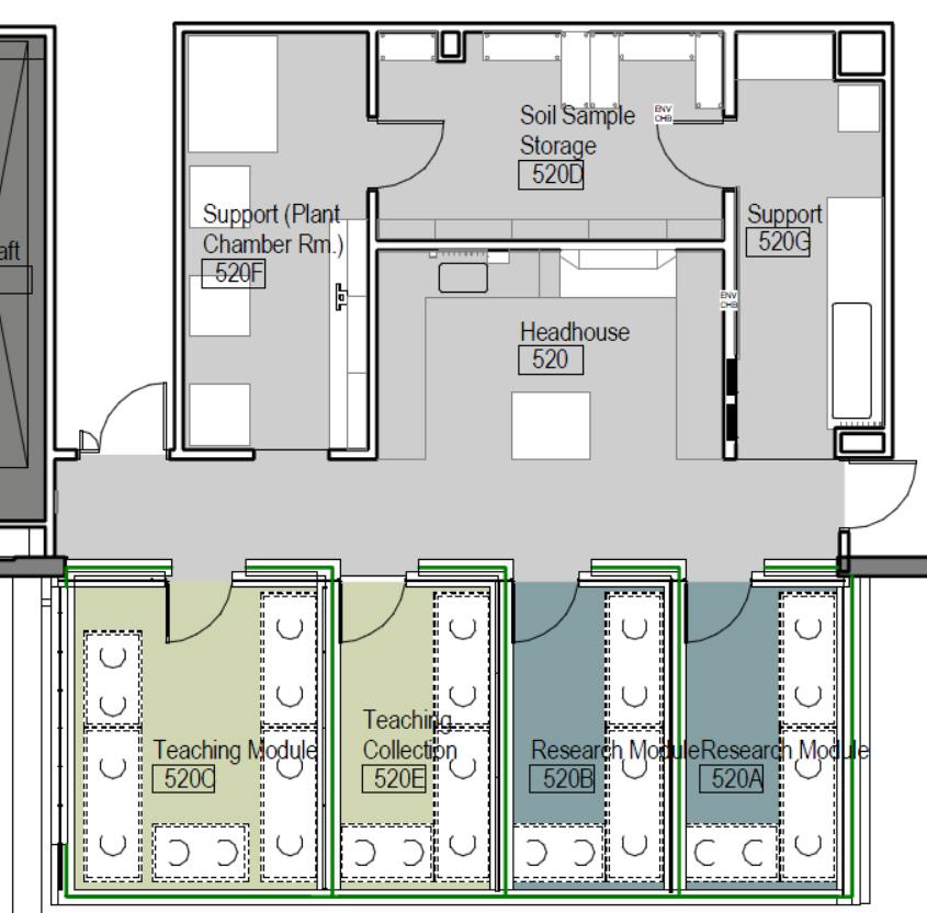 Greenhouse for Design business floor plans online free