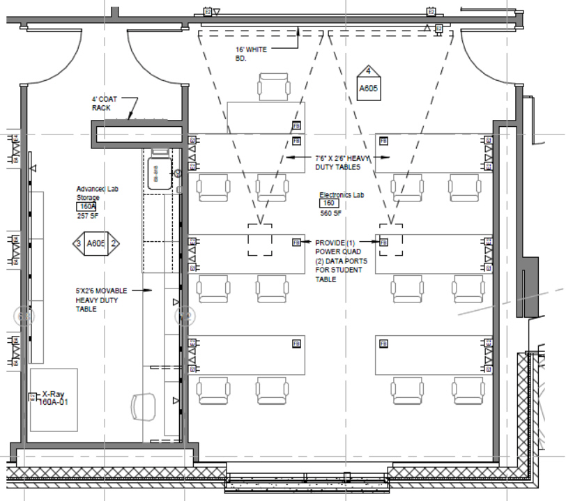 Refinery Building Floor Plan