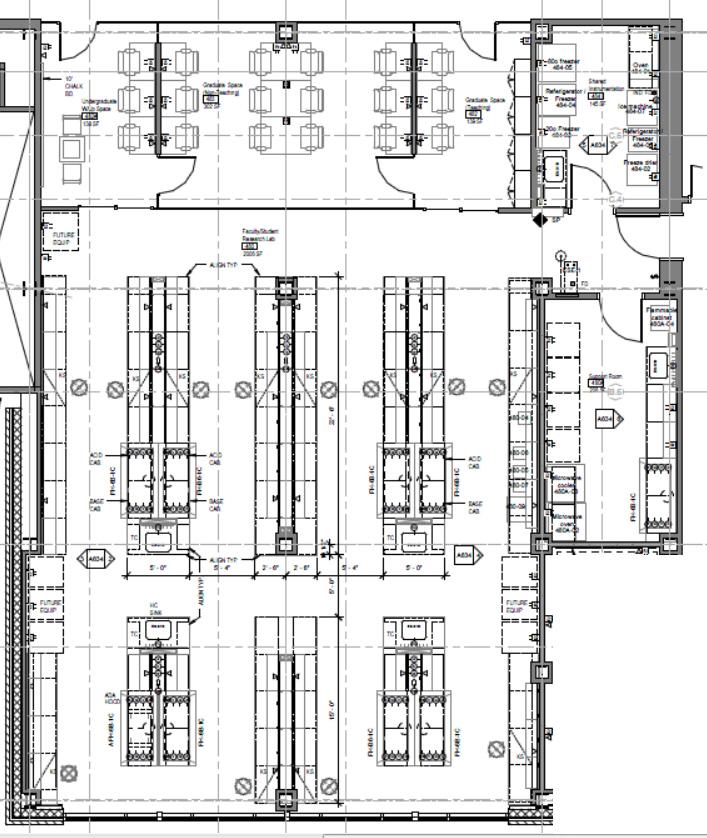 Laboratory Floor Plan Chemistry Research Labs