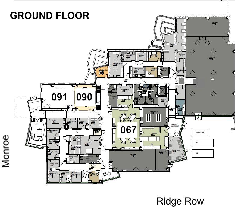 Designs Science Center: Floor Plans