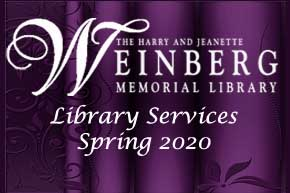 Library Services Spring 2020
