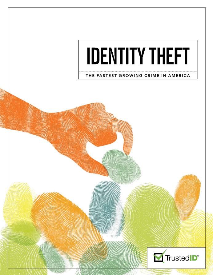 identity theft a growing crisis Although identity theft is the fastest growing crime in the united states institutions can be a daunting task for anyone trying to resolve the crisis on their own.
