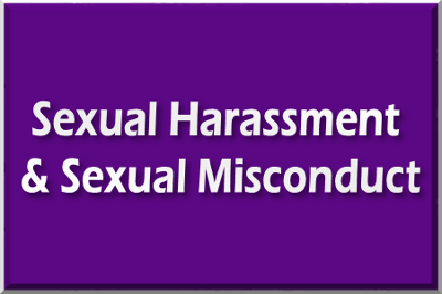 Link to information regarding sexual misconduct